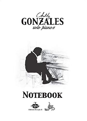 Chilly Gonzales-Notebook - Solo Piano II-Klavier-BOOK