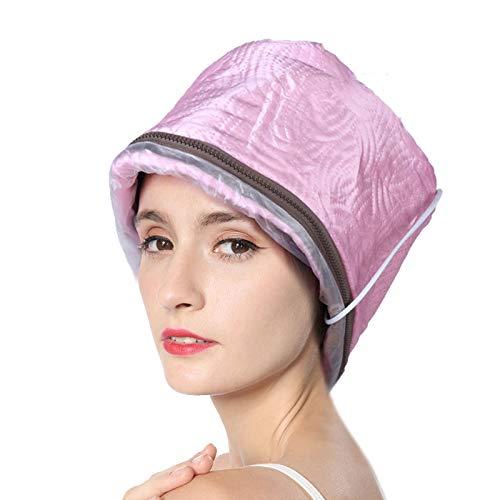 Cap Steamer Cap, Tres niveles de temperatura ajustable Cuidado automático Cap Peluquería Cap Peluquería Calentador Cap para coloración del cabello Cuidado del cabello y cabello seco