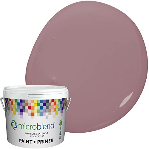 Microblend Interior Paint and Primer - Purple/Merry Mauve, Sample, Premium Quality, One Coat Hide, Low VOC, Washable, Microblend Violets Family