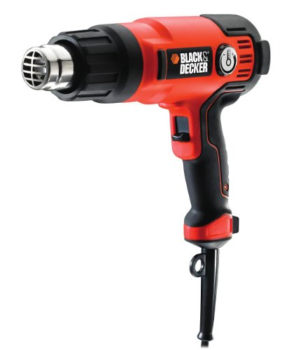 BLACK+DECKER 240 V 2000 W High Performance Variable Speed Heat Gun for Paint Stripping with Kitbox, KX2200K-GB