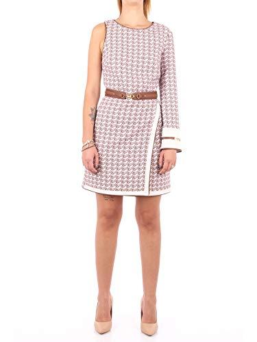 Elisabetta Franchi AB10607E2 Kurzes Kleid Damen Limette 40