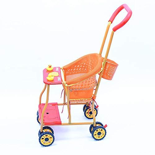asdasd Sunscreen kids ultralight shade imitation shed rattan flexible chair bamboo woven baby cane stroller lightweight baby-Eight-wheel Ultimate Edition + Mesh Cushion