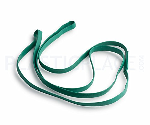 Plasticplace 30' Rubber Bands for 95-96 Gallon Trash Cans, 5 Pack