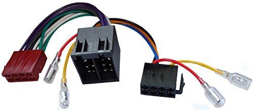 Aerzetix - ISO-converter - adapter - kabel radio adapter 20cm ISO 13PIN 8+5 voorbekabelde aansluitingen voor luidspreker mannelijk vrouwelijk