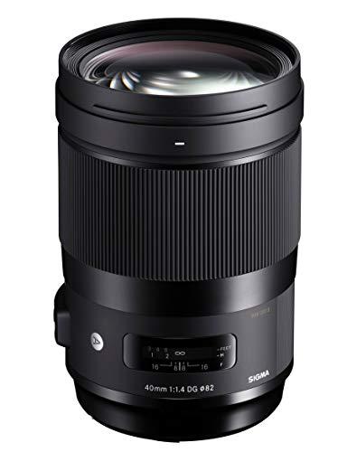 Sigma F1.4 DG HSM Art - Objetivo Standard réflex 40 mm para Sony E, Color Negro