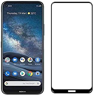Al-HuTrusHi Comatible with Nokia 8.3 5G Tempered Glass Screen Protector, 9H Hardness HD Clear Screen Protector Film for No...