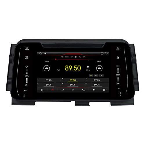 Autosion Lecteur DVD de voiture Android 10 GPS stéréo radio multimédia Wifi pour Nissan Kicks 2014 2015 2016 2017 2018 2019 Micra 2017 commande au volant