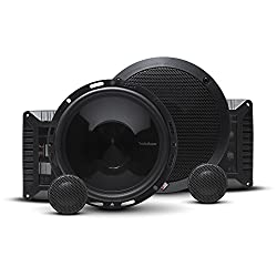 Rockford Fosgate T1650-S Power 6.50 inc 2-Way Euro Fit Compatible Component Speaker System