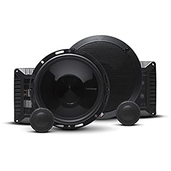 Rockford Fosgate T1650-S Power 6.50  2-Way Compatible Component Speaker System with External Crossover  Pair
