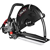 XtremepowerUS 3200W 16' in Electric Cutter Circular Saw Wet/Dry Concrete Saw Cutter Guide Roller (Blade Not Included)