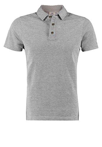 Cotton Oxford - Polo en Hommes Rugby S M L XL XXL 100% Neuf qualité Coton Naturel - Gris, Medium