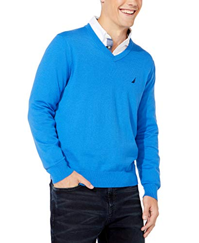 Nautica Men's Navtech Jersey Sweater, Spinner Blue, 3X-Large