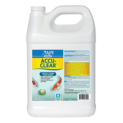 API POND ACCU-CLEAR Water clarifier For Pond 1-Gallon Bottle