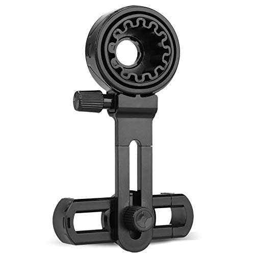 Universal Cell Phone Adapter Mount for Binocular Monocular Spotting Scope Microscope Fits Almost All Smartphone on The Market