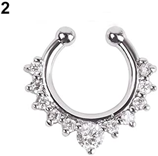 Body Piercing Jewelry Fashion Multilayer Chain Nose Ear Lip Belly Button Decor