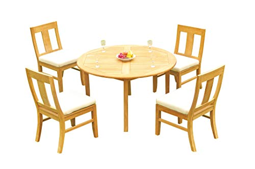 Outdoor Teak Dining Set: 52