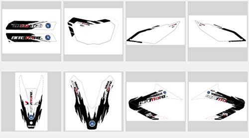 race-styles Aufkleber kompatibel mit Yamaha WR 125 X Premium streetline DEKOR Decals Sticker