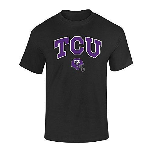 Elite Fan Shop TCU Horned Frogs Tshirt Black - L