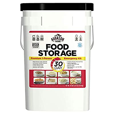 Augason Farms 30-Day 1-Person Emergency Food Supply – QSS Certified