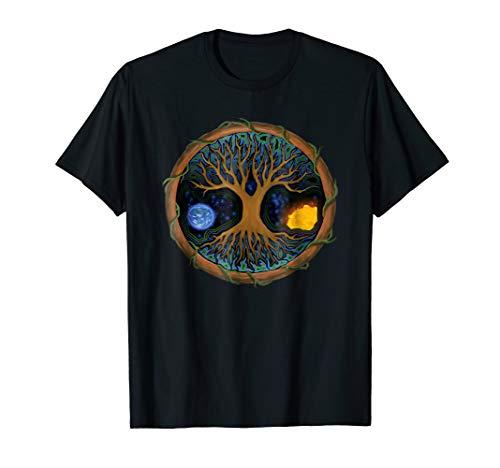 Astral Tree of Life Shirt - Celtic Tree Viking Yggdrasil Tee
