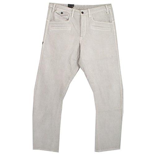 G-Star, Davin 3D Tapered, Herren Herren Jeans Hose Denim Putty White W 34 L 36 [18784]