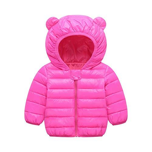 Gyratedream Baby Winter Jassen Down Jacket Zip Hoodies Jongens Meisjes Sneeuwpak Hooded Bovenkleding 0-4 Jaar Zuigelingen