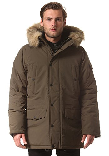 Cazadora Carhartt: Anchorage Parka Cypress/Black GN L