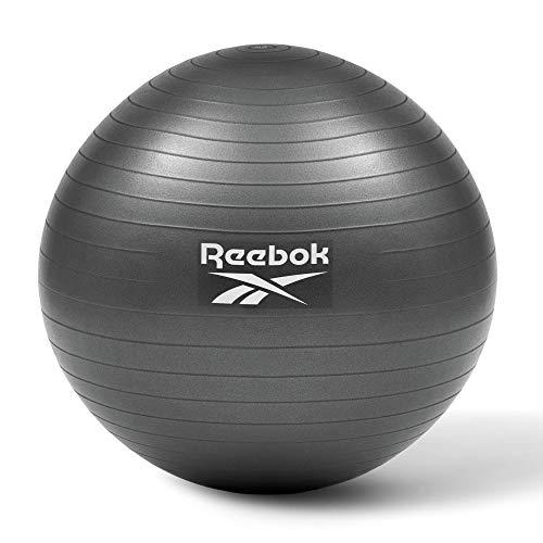 Reebok Bola de gimnasio-75cm, Unisex-Adult, Negro, 75 CM