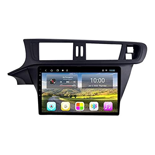 ZHANGYY Unidad Principal estéreo con Radio de Coche Android 8.1 de 10.1 Pulgadas Compatible con Citroen C3-XR 2014-2018, navegación GPS/Bluetooth/FM/RDS/Control del Volante/cámara Trasera