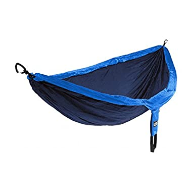 Eagles Nest Outfitters ENO DoubleNest Hammock, Portable Hammock for Two, Navy/Royal