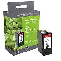 Office Depot OD992 (Dell MK992 / MK990) Remanufactured Black Ink Cartridge, OD992 by Office Depot