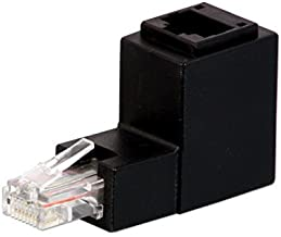 Lindy - Adaptador UTP de ángulo Derecho (RJ45)