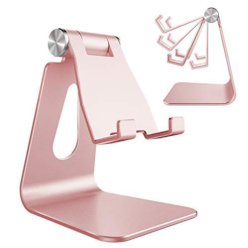 Adjustable Cell Phone Stand, CreaDream Phone Stand, Cradle, Dock, Holder, Aluminum Desktop Stand...