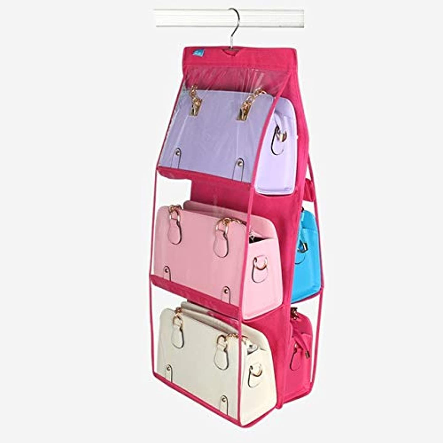 Family Organizer Backpack handbag Storage Bags Be Storage Bag Hanging Pocket Supplies Closet Hangers Home Shoe 6 High Rack