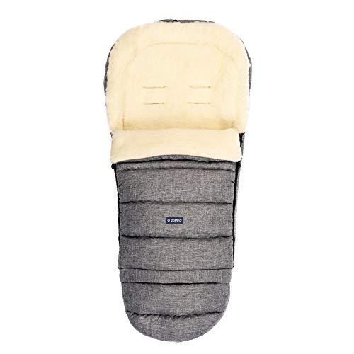 Zaffiro iGrow - Passeggino universale con sacco a pelo in pura lana di pecora