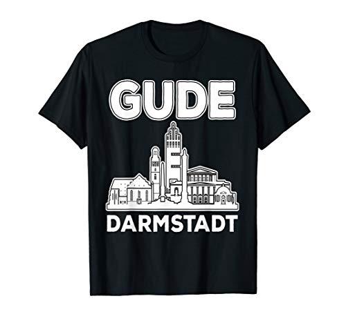GUDE Darmstadt iGude Eigude Darmstädter Fünf Fingerturm T-Shirt