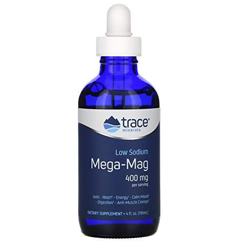 Trace Minerals Mega-Mag, 400mg - 118 ml
