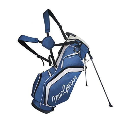 MacGregor Macbag128 Sac de Golf pour Homme, Homme, MAGBAG128, Bleu Marine/argenté, Taille Unique