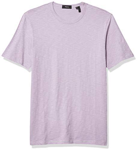 Theory Herren Essential Tee T-Shirt, Eisenkraut, X-Klein