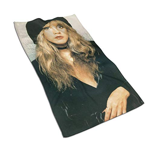 Shichangwei Stevie Nicks Toallas for Pool, SPA, and Gym Lightweight and Highly Absorbent Quick Drying Medium Bath Toallas 27.5 x 17.5in