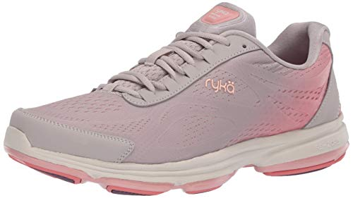 Ryka womens Devotion Plus 2 Sneaker, Silver Cloud, 8.5 US