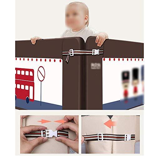 PU Inicio Bed Rail, Protector de cama plegable y estable Baby Safety Bed Rail-2 Color 3 Size Opcional Bedrail,B,1.8m