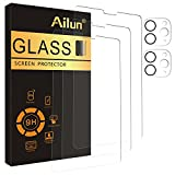 Ailun 3Pack Screen Protector for iPad Pro 2020 & 2021 [11 inch] + 2 Pack Camera Lens Protector,Tempered Glass Anti-Scratch Case Friendly