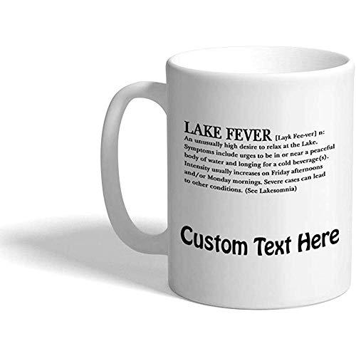 Gewohnheit Kaffeetasse 330 ml See-Fieber-Natur-keramische Tee-Schale personalisierter Text