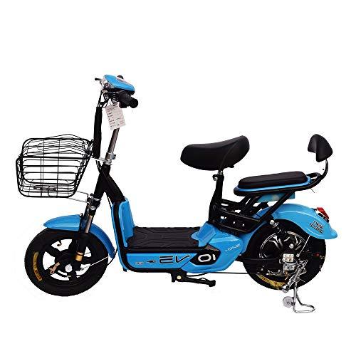 XMIMI Bicicleta eléctrica Pedal de Dos Ruedas batería de Coche eléctrico Coche...