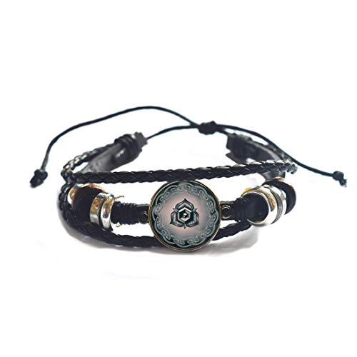 Bracciale triquetra con simbolo celtico di rosa Triquetra Bracciale con simbolo di amore e passione Sacro amante gioielli triquetra braccialetto #317