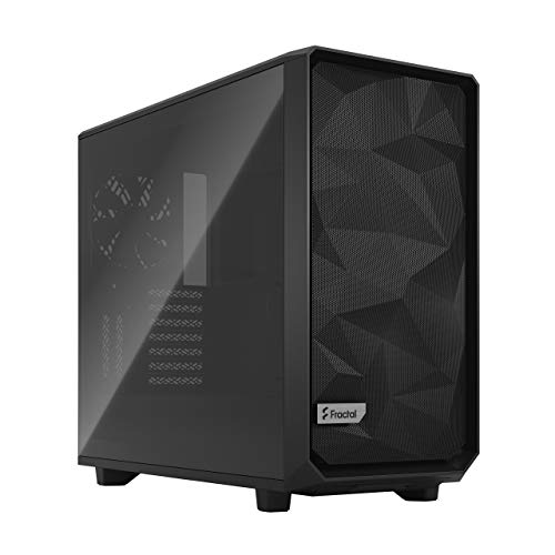 Fractal Design Meshify 2 Black ATX Flexible Light Tinted Tempered Glass Window Mid Tower Computer Case