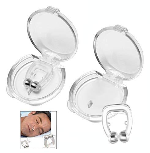 iwobi Anti-ronflement Premium,2 Pièces Snore Stopper Snore Protection pour Améliore la Respiration pour un Sommeil plus Confortable