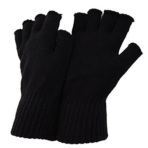 Floso - Mitaines thermiques - Homme (Taille unique) (Noir)