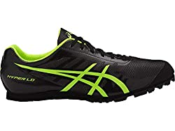 in budget affordable ASICS Athletics Hyper LD5.7M Men's Shoes Black / Safety Yellow